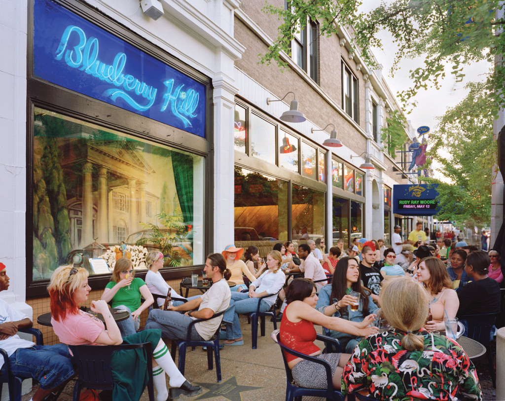 Blueberry Hill Sidewalk Patio