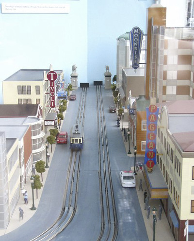 Delmar Loop Trolley Model