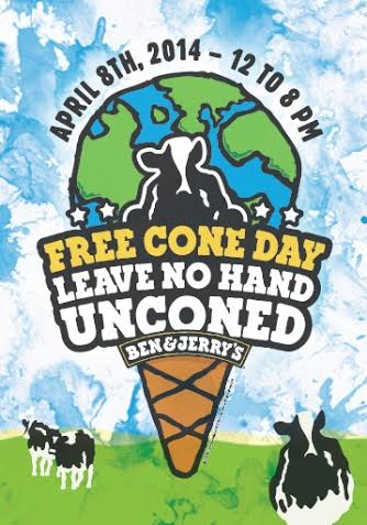 Free Cone Day Ben & Jerry's Ice Cream