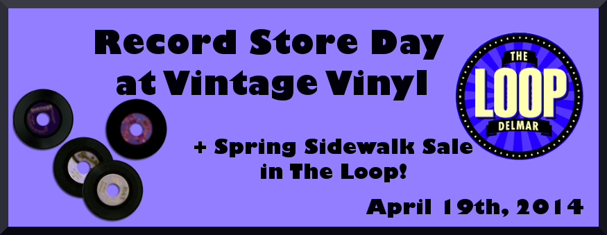 Spring Sidewalk Sale in the Delmar Loop Saturday 4/19