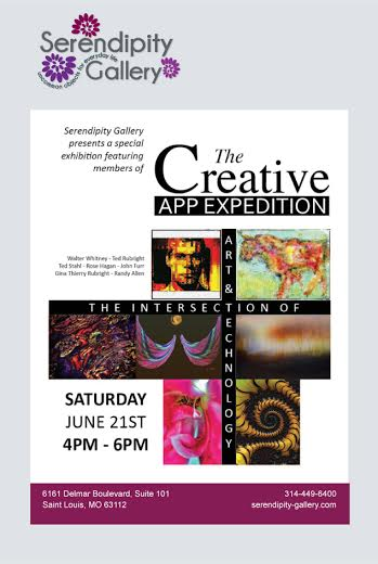 Serendipity Gallery, The Loop, Creative App Expedition, Gallery Event