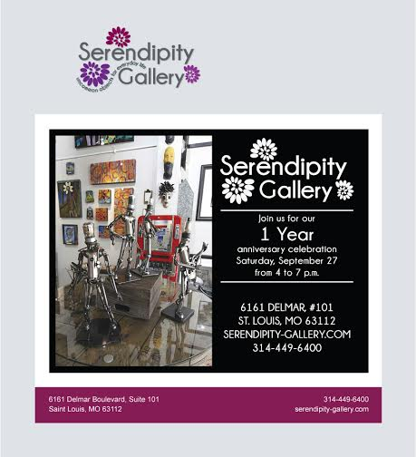 serendipity gallery, event, delmar loop