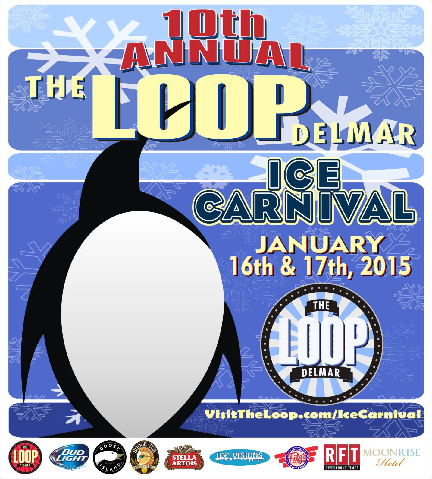 Delmar Loop Ice Carnival 2015